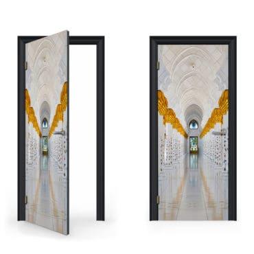 Grand Mosque Door Decal