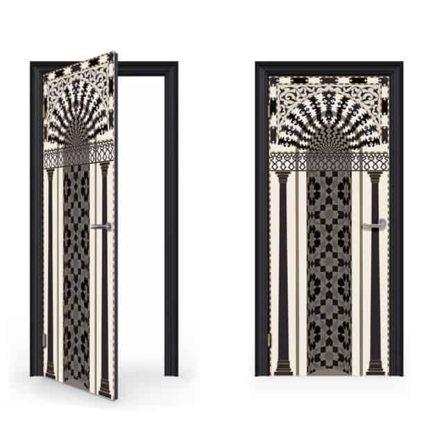 Mihrab Door Decal