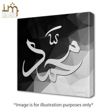 Muhammad Geometric Canvas